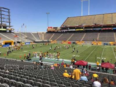 Sun Devil Stadium section 7