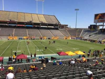 Sun Devil Stadium section 7