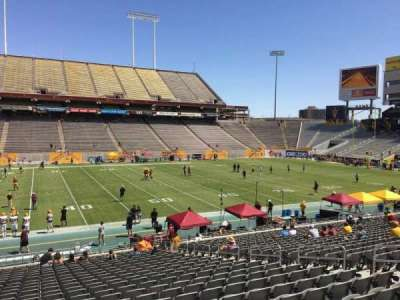 Sun Devil Stadium section 8