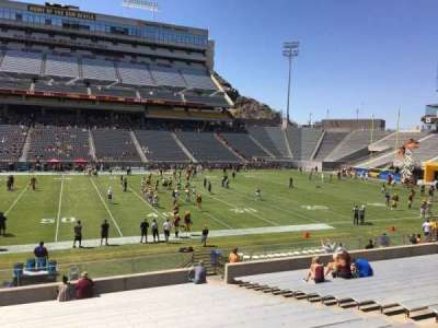 Sun Devil Stadium, section: 30, row: 25, seat: 12