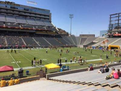 Sun Devil Stadium, section: 31, row: 25, seat: 12