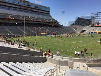 Sun Devil Stadium, section: 37, row: 25, seat: 10