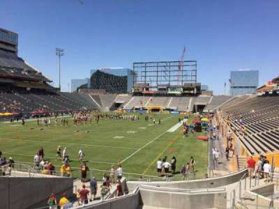 Sun Devil Stadium, section: 38, row: 25, seat: 12