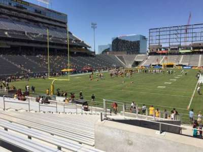 Sun Devil Stadium, section: 39, row: 25, seat: 12