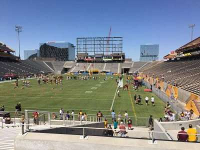 Sun Devil Stadium, section: 39, row: 25, seat: 12