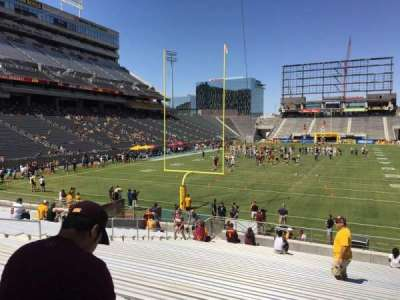 Sun Devil Stadium, section: 40, row: 25, seat: 12