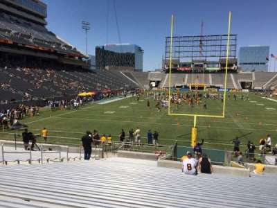 Sun Devil Stadium, section: 41, row: 25, seat: 12