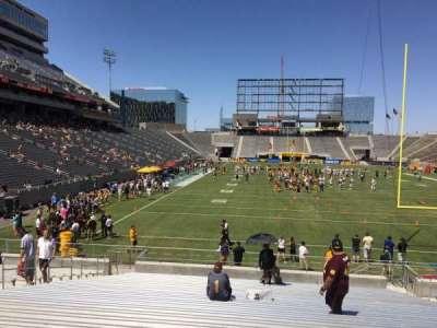 Sun Devil Stadium, section: 42, row: 25, seat: 12