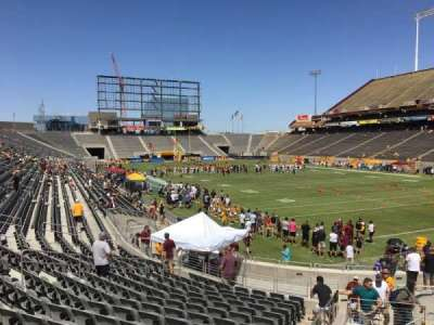 Sun Devil Stadium, section: 45, row: 25, seat: 9