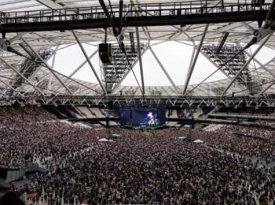 London Stadium section 249