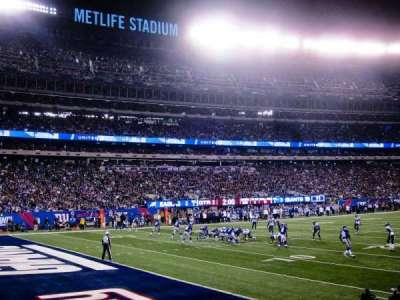 MetLife Stadium, section: 144, row: 7, seat: 12