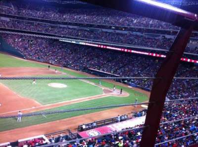 Globe Life Park in Arlington section 217
