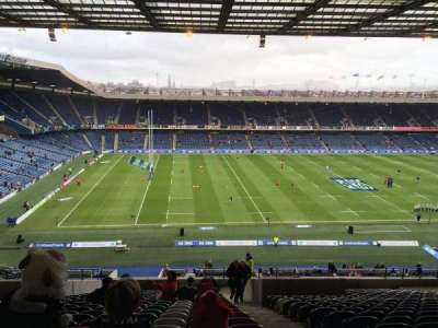 Murrayfield Stadium, section: 32, row: LL, seat: 10