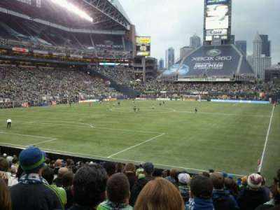 CenturyLink Field, section: 118, row: V, seat: 12