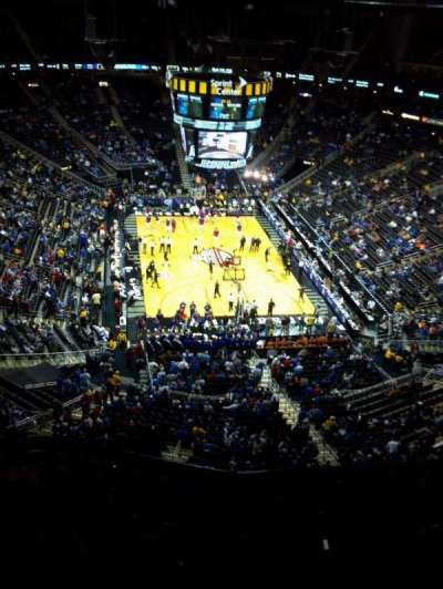 Sprint Center section 201