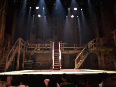 Richard Rodgers Theatre, section: ORCH, row: E, seat: 108