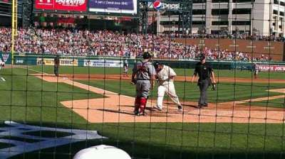 Comerica Park, section: 125, row: 3, seat: 7