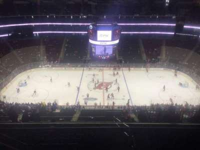 Prudential Center, section: 212, row: 4, seat: 15