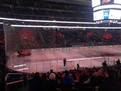Prudential Center, section: 6, row: 19, seat: 16