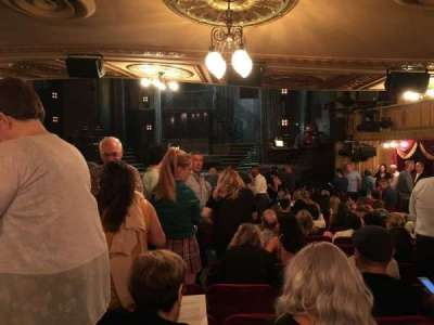 Walter Kerr Theatre section Standing Room