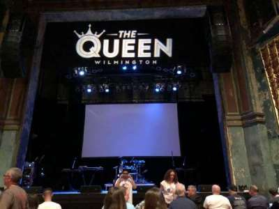 The Queen, section: GA Floor, row: Last Row in Front of t, seat: Center Aisle