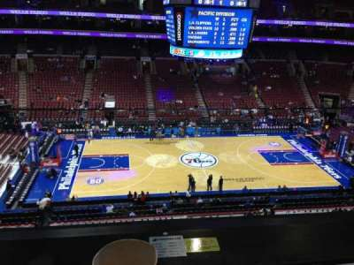 Wells Fargo Center, section: Suite 5, row: 1, seat: 5