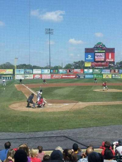 Seat view reviews from The Diamond, home of Richmond Flying