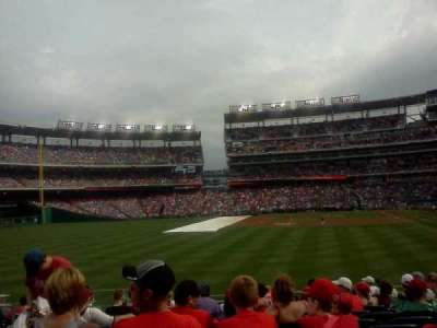 Nationals Park, section: 142, row: 15