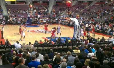 The Palace of Auburn Hills, section: 108, row: D, seat: 7