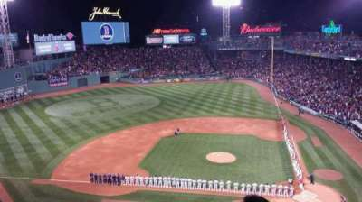 Fenway Park, section: Pavilion Box 2, row: D, seat: 1
