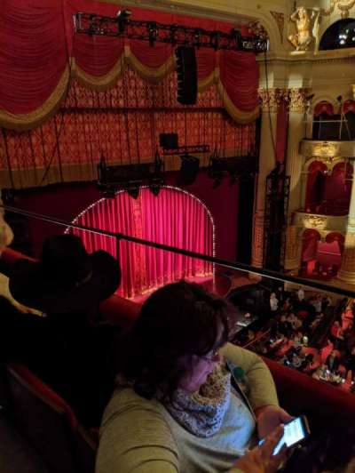 Academy of Music, section: Family Circle H, row: B, seat: 39