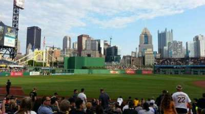 PNC Park, section: 127, row: A, seat: 3