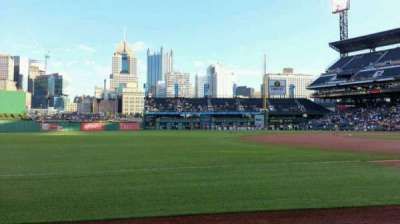 PNC Park, section: 27, row: B, seat: 3