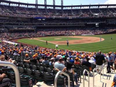 Citi Field, section: 108, row: 24, seat: 1