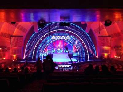 Radio City Music Hall, section: 1st mezzanine 4, row: J, seat: 413