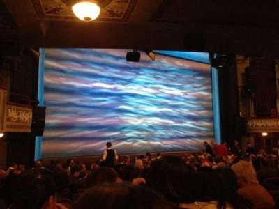 Broadhurst Theatre, section: Orcho, row: O, seat: 13