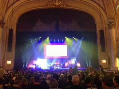 Proctor's Theatre, section: Orch Ctr, row: K, seat: 108