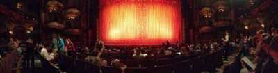 New Amsterdam Theatre, section: Orch, row: J, seat: 107