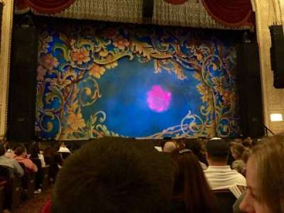 Proctor's Theatre, section: Orch Ctr, row: C, seat: 113