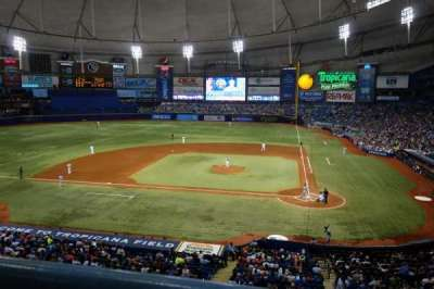Tropicana Field section 207