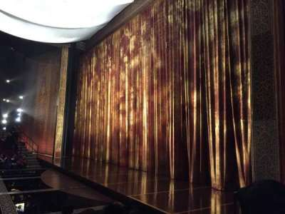 Vivian Beaumont Theater, section: Orcho, row: H, seat: 509