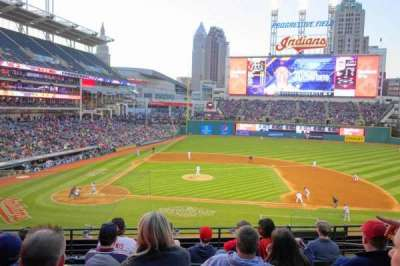 Progressive Field section 346