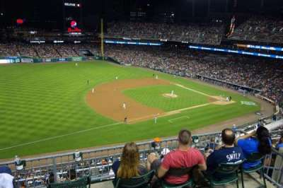 Comerica Park, section: 338, row: 1, seat: 7