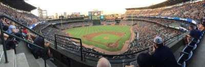 Turner Field, section: 404R, row: 2, seat: 2