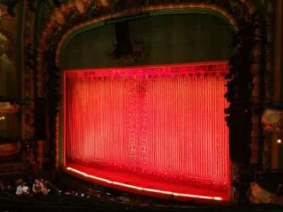 New Amsterdam Theatre section MEZZ
