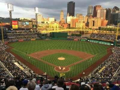 PNC Park, section: 316, row: J, seat: 16
