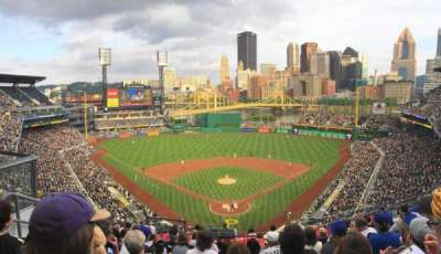 PNC Park, section: 316, row: J, seat: 16