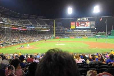 PNC Park, section: 112, row: M, seat: 7