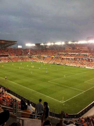 BBVA Compass Stadium section 220