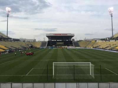 Mapfre Stadium, section: 116, row: 14, seat: 20